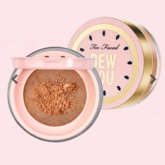 Too Faced Dew You Setting Powder - Radiant Caramel NWT